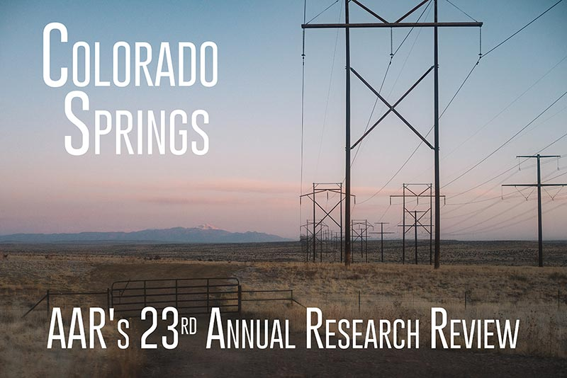 23rd Annual AAR Research Review